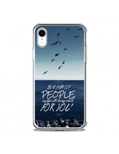 Coque iPhone XR Sea Mer Plage - Eleaxart