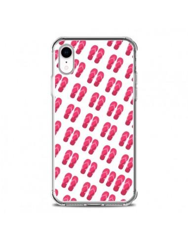 Coque iPhone XR Tongs Flip Flops -...
