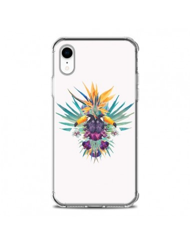 Coque iPhone XR Exotic Toucans Summer...