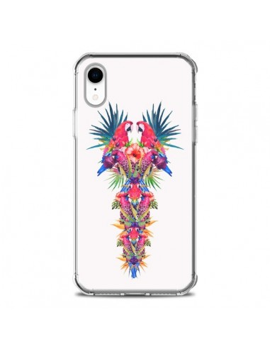 Coque iPhone XR Parrot Kingdom...
