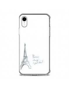 Coque iPhone XR Paris is always a good idea - Léa Clément
