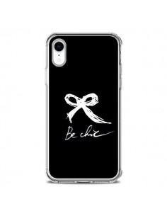 Coque iPhone XR Be Chic Noeud Papillon Blanc - Léa Clément