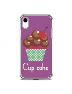 Coque iPhone XR Cupcake Cerise Chocolat - Léa Clément