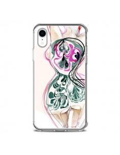Coque iPhone XR Femme en fleurs - Elisaveta Stoilova
