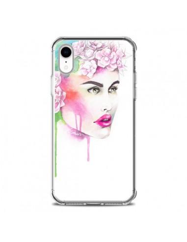Coque iPhone XR Libra Femme -...