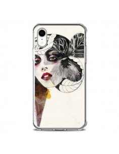 Coque iPhone XR Flower Girl - Felicia Atanasiu