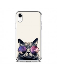 Coque iPhone XR Chat à lunettes - Gusto NYC