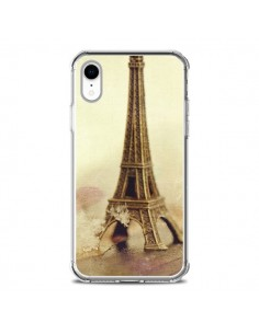 Coque iPhone XR Tour Eiffel Vintage - Irene Sneddon