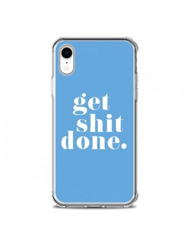 iphone xr coque bleu