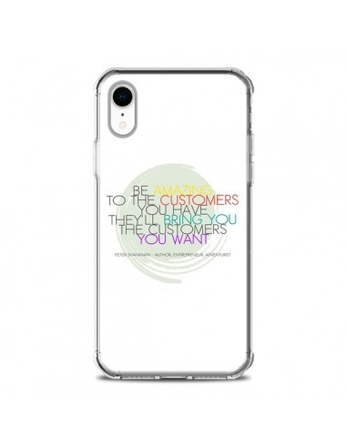 Coque iPhone XR Peter Shankman, Customers - Shop Gasoline
