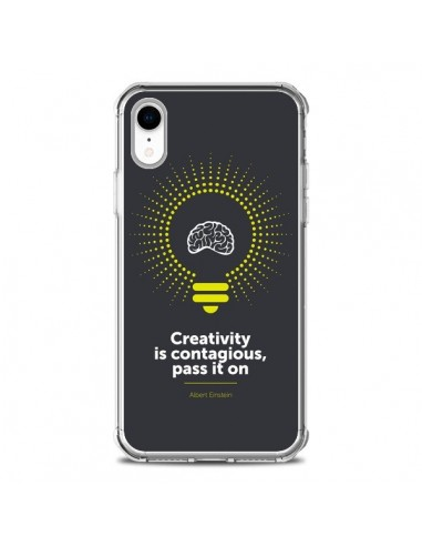 Coque iPhone XR Creativity is...