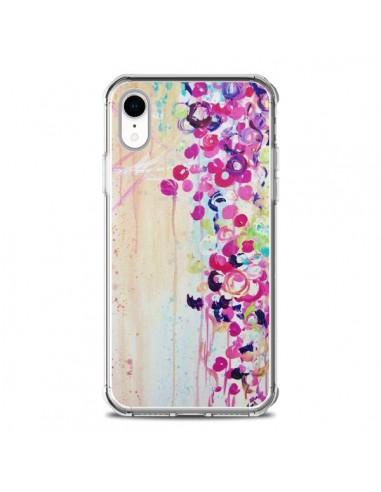 Coque iPhone XR Fleurs Dance of...