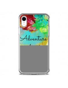Coque iPhone XR Adventure Awaits Fleurs - Ebi Emporium