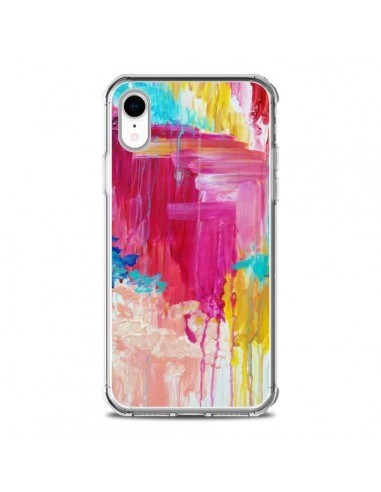 Coque iPhone XR Elated Peinture - Ebi...