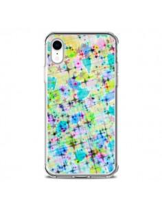 Coque iPhone XR Stars Etoiles Bleues - Ebi Emporium
