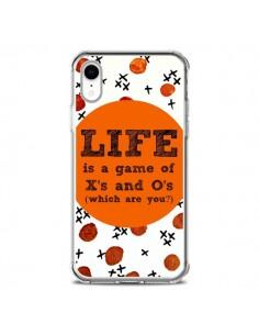 Coque iPhone XR Life is a Game XoXo - Ebi Emporium