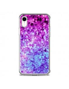 Coque iPhone XR Radiant Orchid Galaxy Paillettes - Ebi Emporium