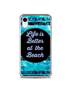 Coque iPhone XR Life is Better at The Beach - Ebi Emporium