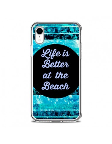 Coque iPhone XR Life is Better at The...
