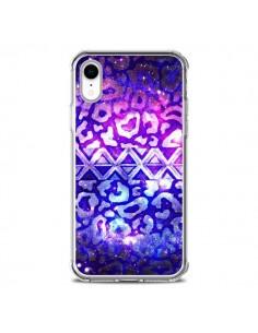 Coque iPhone XR Tribal Leopard Galaxy - Ebi Emporium
