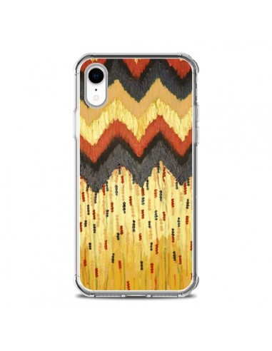 Coque iPhone XR Shine On Gold Azteque...