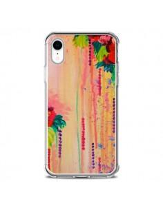 Coque iPhone XR Strawberry Confetti Flowers - Ebi Emporium