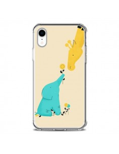 Coque iPhone XR Elephant Bebe Girafe - Jay Fleck