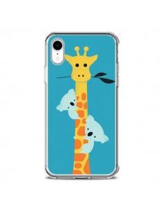 Coque iPhone XR Koala Girafe Arbre - Jay Fleck