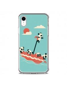 Coque iPhone XR Parapluie Flottant Panda - Jay Fleck