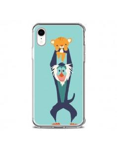 Coque iPhone XR Futur Roi Lion King Rafiki - Jay Fleck