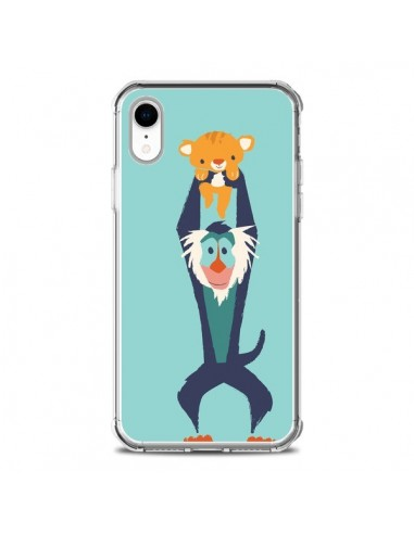 coque iphone xr roi lion