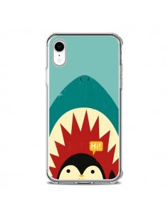 Coque iPhone XR Pingouin Requin - Jay Fleck
