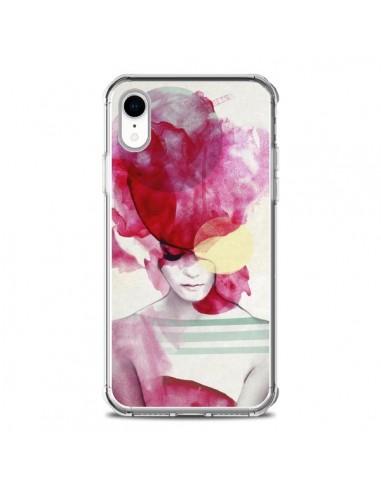 Coque iPhone XR Bright Pink Portrait...