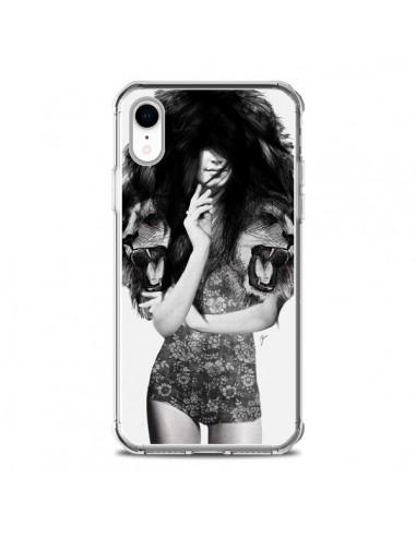 Coque iPhone XR Femme Lion - Jenny Liz Rome