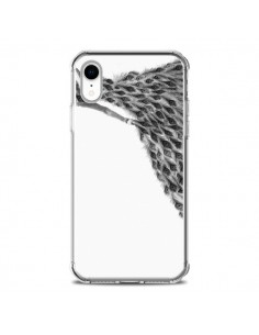 Coque iPhone XR Peacock Paon Robe Femme - Jenny Liz Rome