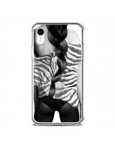 Coque iPhone XR Femme Zebre - Jenny Liz Rome