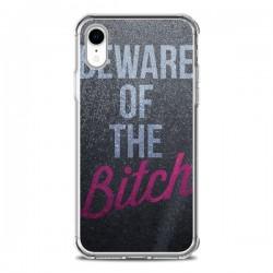 Coque iPhone XR Beware of the Bitch - Javier Martinez