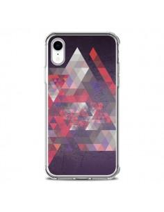 Coque iPhone XR Azteque Gheo Violet - Javier Martinez