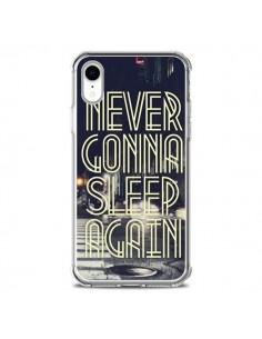 Coque iPhone XR Never Gonna Sleep New York City - Javier Martinez