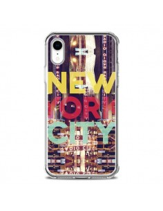 Coque iPhone XR New York City Buildings - Javier Martinez