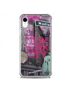Coque iPhone XR New York City Rose - Javier Martinez