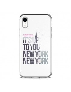 Coque iPhone XR Up To You New York City - Javier Martinez
