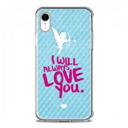 Coque iPhone XR I will always love you Cupidon - Javier Martinez