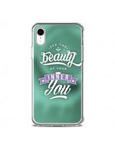 Coque iPhone XR Beauty Vert - Javier Martinez
