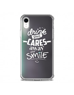 Coque iPhone XR Drink Gris - Javier Martinez