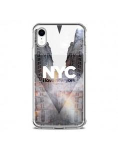 Coque iPhone XR I Love New York City Orange - Javier Martinez