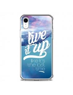 Coque iPhone XR Last Time Bleu - Javier Martinez