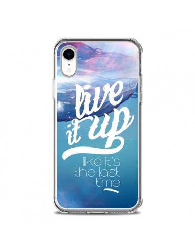 Coque iPhone XR Last Time Bleu -...