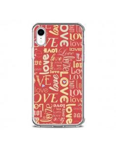 Coque iPhone XR Love World - Javier Martinez