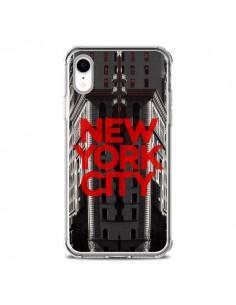 Coque iPhone XR New York City Rouge - Javier Martinez